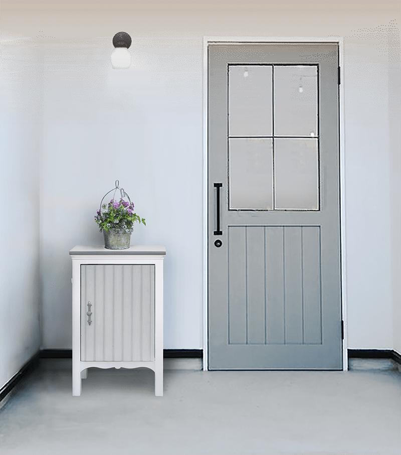 玄関を飾る